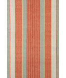 RugStudio presents Dash and Albert Autumn Stripe Cotton Woven Flat-Woven Area Rug